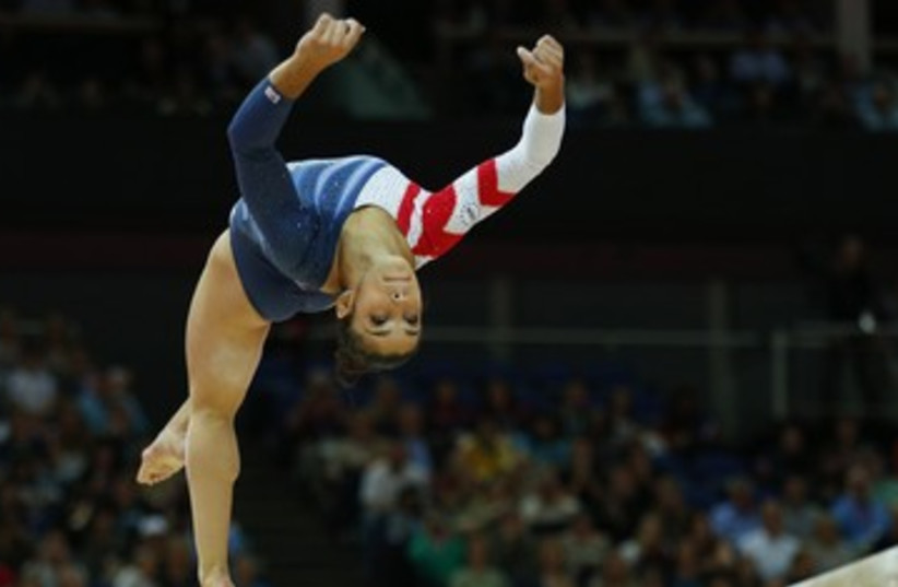 Olympic gold medalist Aly Raisman 390 (photo credit: Brian Snyder / Reuters)