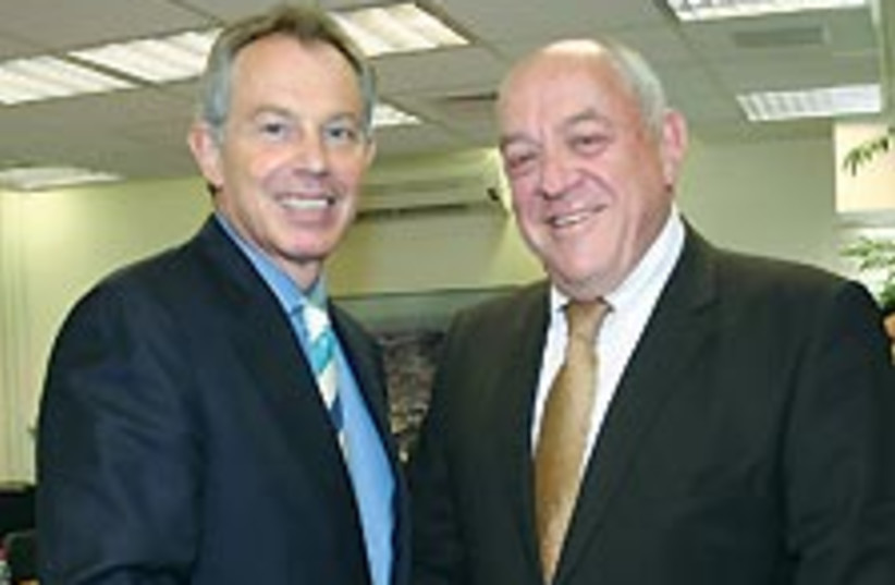 Blair and Bar-On 88 224 (photo credit: Finance Ministry)