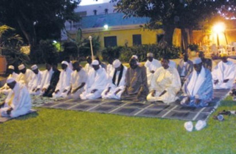 imams gather at Israeli Embassy in Senegal 370 (photo credit: Courtesy Israeli Embassy in Senegal)