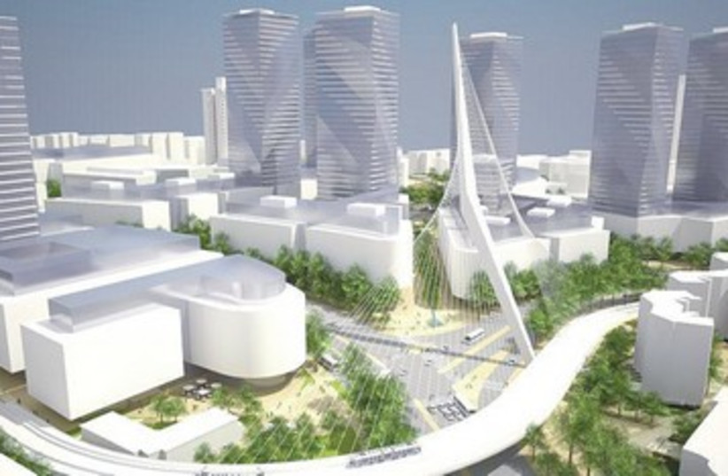 Plans for Jerusalem skyscrapers 390 (photo credit: Jerusalem Municipality)