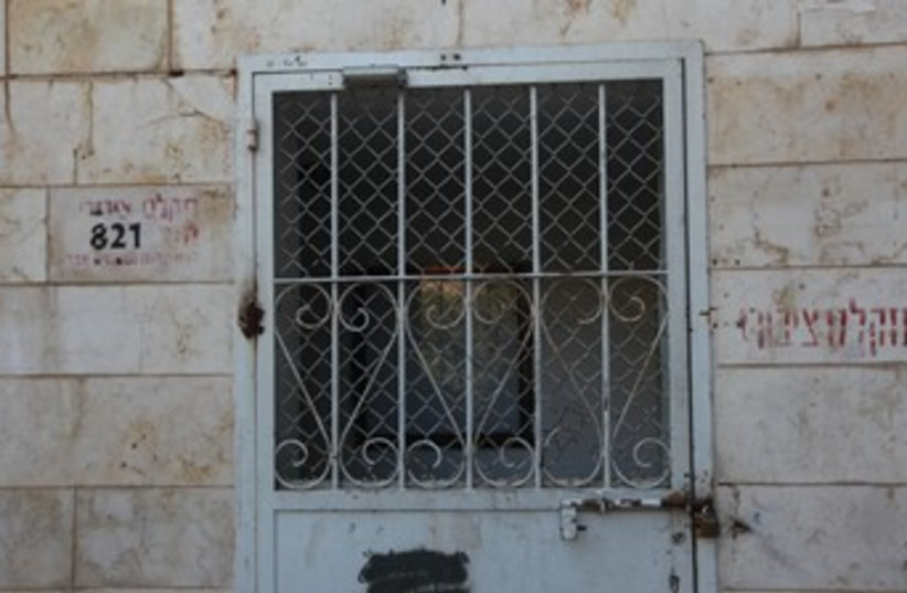 Bomb Shelter (370) (photo credit: Marc Israel Sellem/The Jerusalem Post)