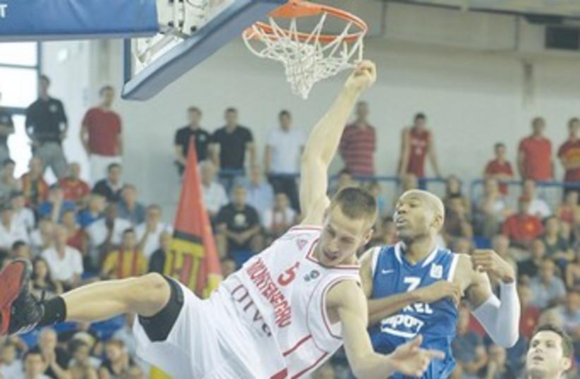 MONTENEGRO'S VLADIMIR MIHAILOVIC (photo credit: Israel Basketball Association)
