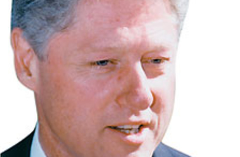 Bill Clinton 224 (photo credit: Jerusalem Post Archives)