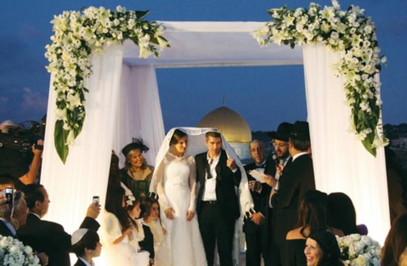 Wedding 521 (photo credit: JPOST.COM STAFF)