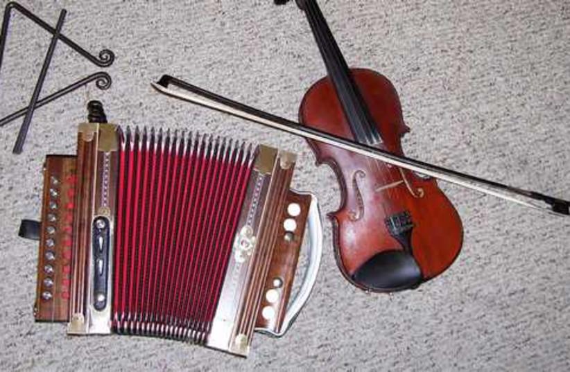 Musical Entertainment (photo credit: Wikicommons)