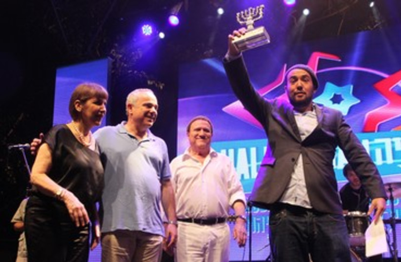 Hallelujah winner Evan Malach 370 (photo credit: Rafi Daluya)