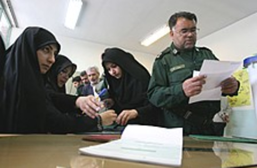 iran vote 224 88 (photo credit: )