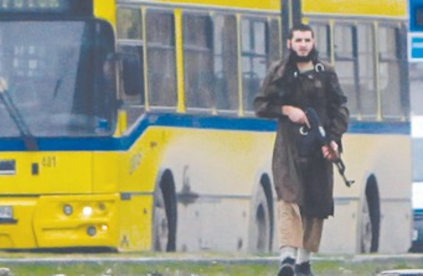 Sarajevo Gunman 370 (photo credit: REUTERS)