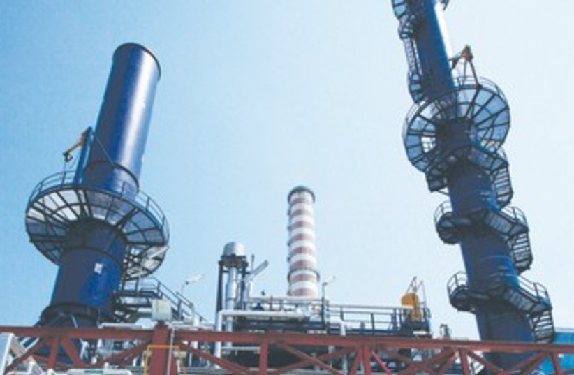 combined-cycle power plant in Venice 370 (photo credit: REUTERS)