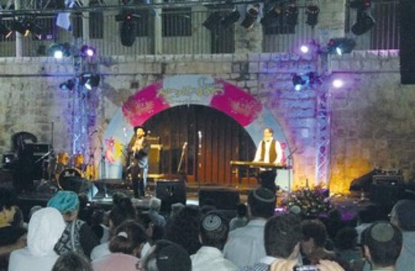 Safed Klezmer Festival 370 (photo credit: LAHAV HARKOV)