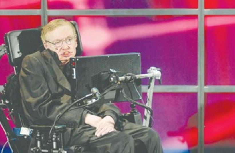 Stephen Hawking 370 (photo credit: Sheryl Nadler/Reuters)