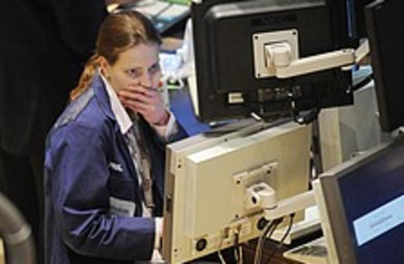 Stock financial 224.88 (photo credit: AP [file])