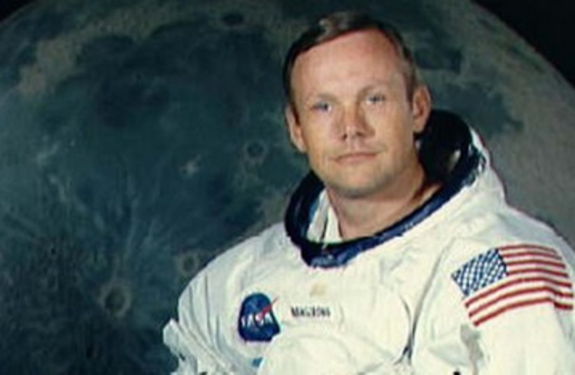 US Astronaut Neil Armstrong 390 (photo credit: REUTERS)