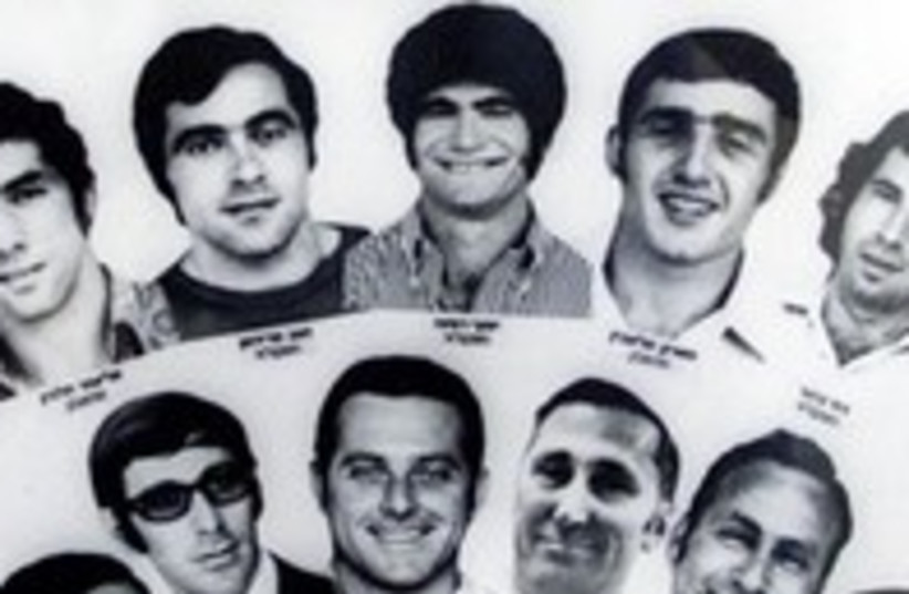 The 11 Israeli athletes killed in 1972 Munich attack 300 (R) (photo credit: REUTERS / Handout)