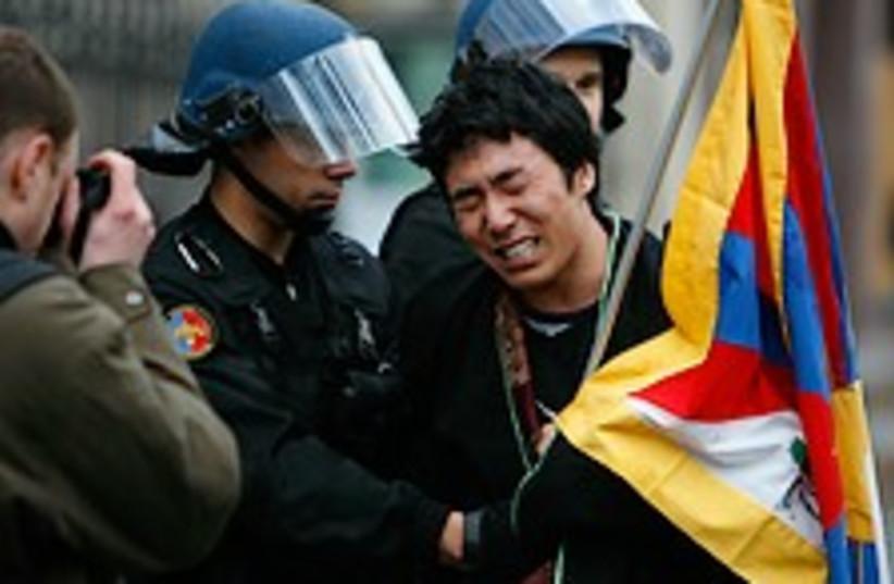 tibet riot 224.88 ap (photo credit: AP)
