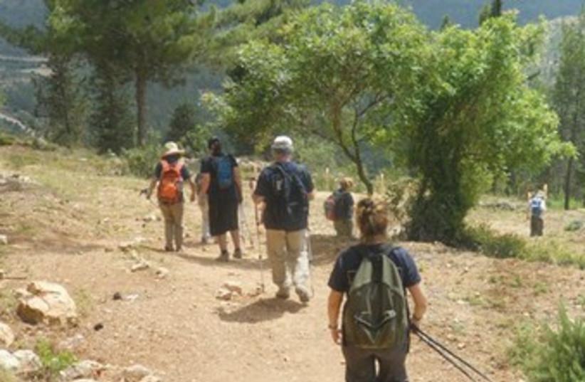 Kilometers for Koby 370 (photo credit: kobymandell.org)