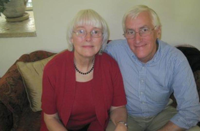Rachel Corrie's parents, Craig and Cindy 370 (photo credit: Yonah Jeremy Bob)