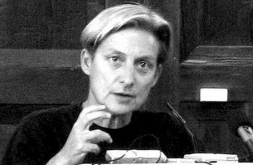 Judith Butler 390 (photo credit: Wikipedia)