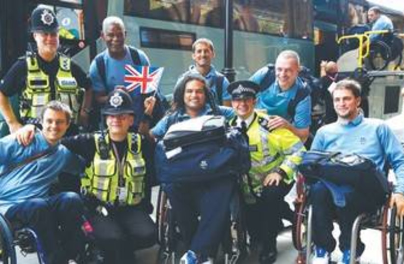 Paralympics 370 (photo credit: Reuters)
