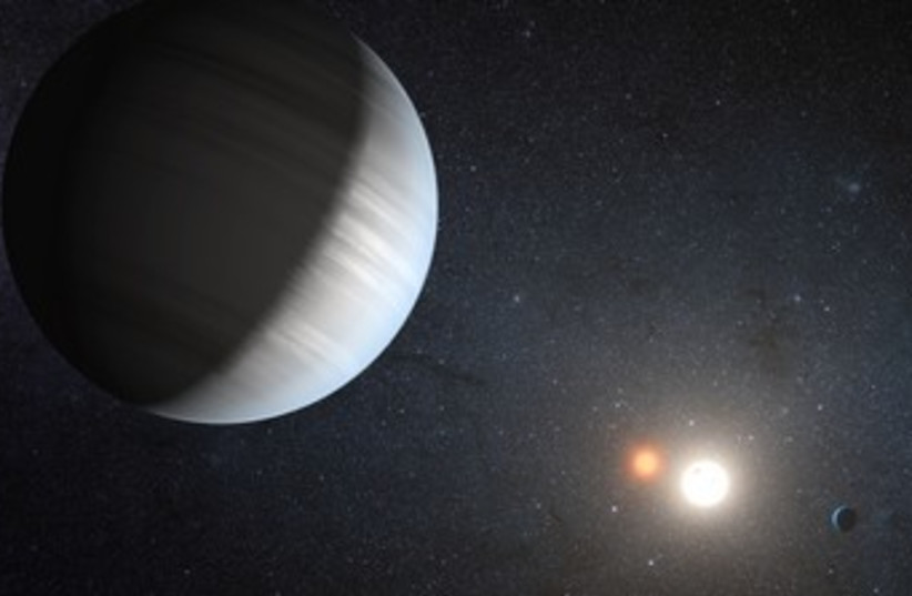New Planet R370 (photo credit: REUTERS)