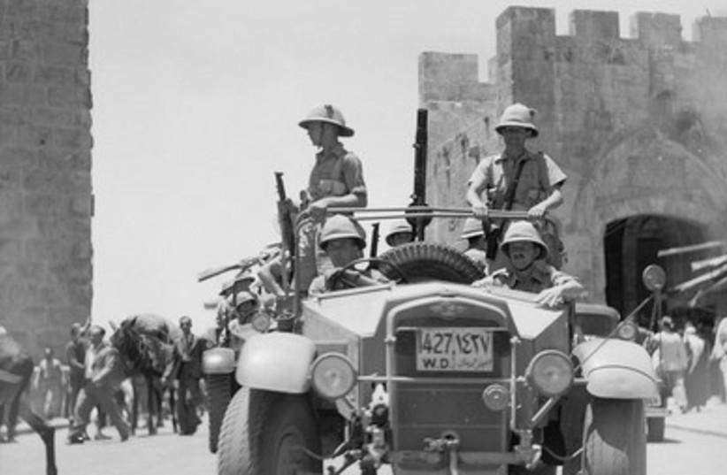 British military raid