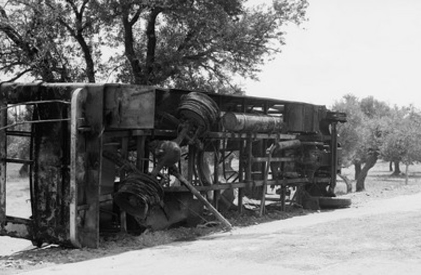 Jewish passenger bus
