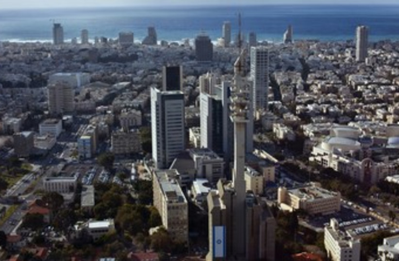 Tel Aviv 370 (photo credit: REUTERS/NIR ELIAS)