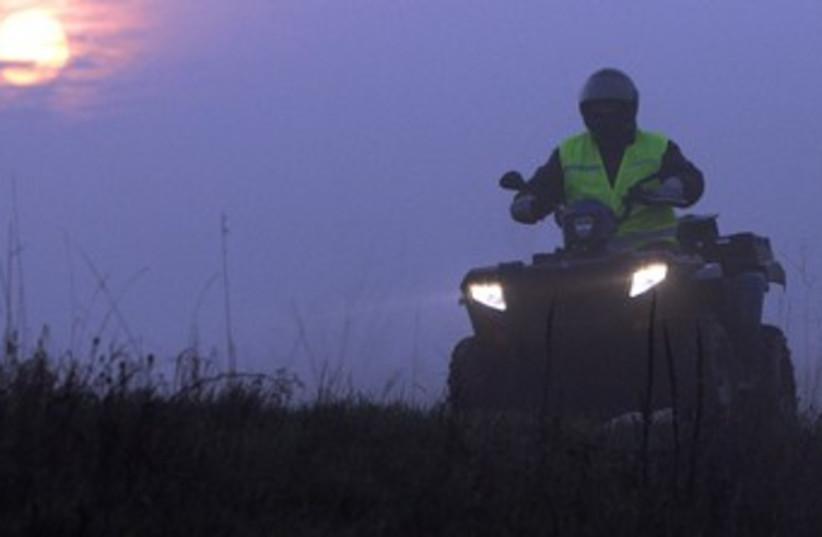 ATV 370 (photo credit: REUTERS)