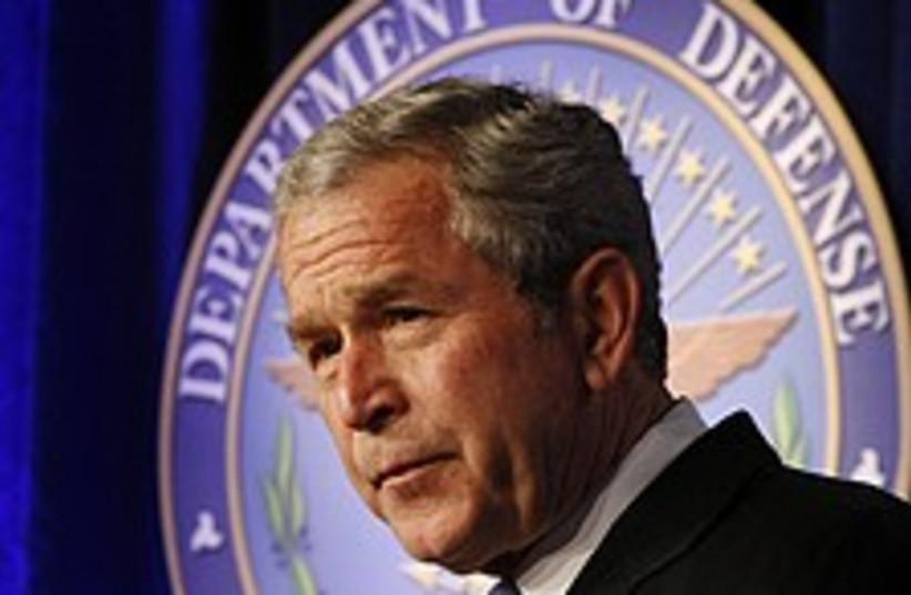 bush iraq 224.88 (photo credit: AP)
