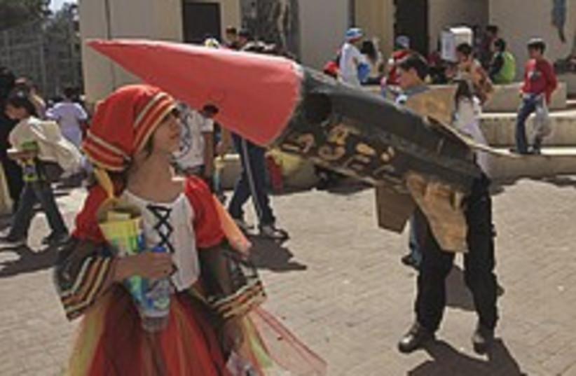 purim sderot 224.88 (photo credit: AP)