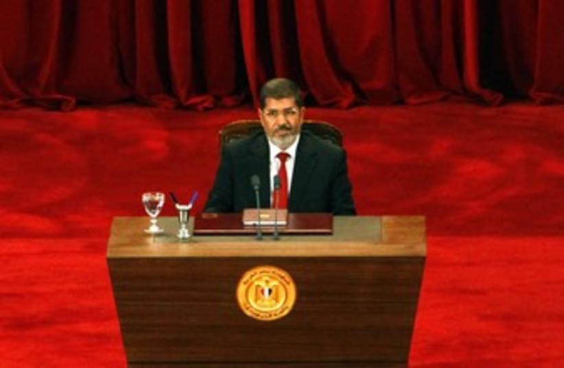 Egyptian President Mohamad Morsy 370 (photo credit: REUTERS/Stringer Egypt)