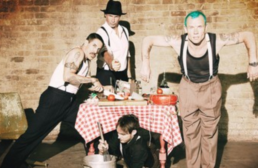 Red Hot Chili Peppers (photo credit: Courtesy)