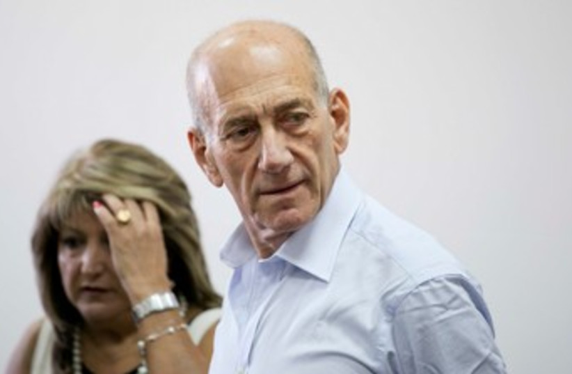 Olmert, Zaken 370 (photo credit: Pool / Olivia Fitosi)