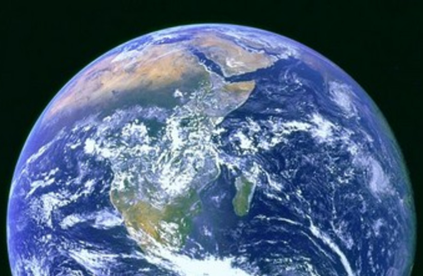 Earth (photo credit: Wikicommons)