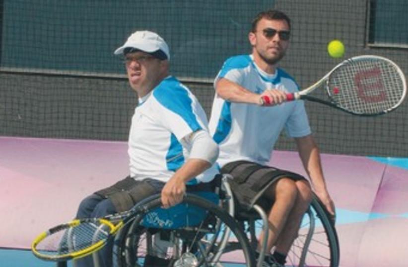 Paralympics Tennis 370 (photo credit: Razi Livnat)