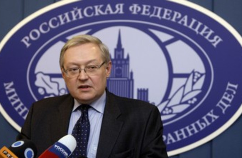 Sergei Ryabkov 370 (photo credit: Denis Sinyakov / Reuters)