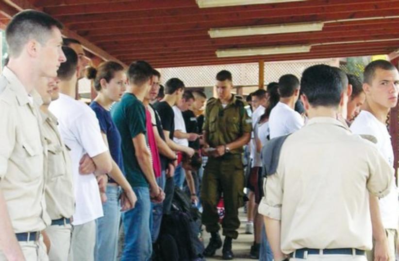New IDF recruits 521 (photo credit: IDF Spokesman's Office)