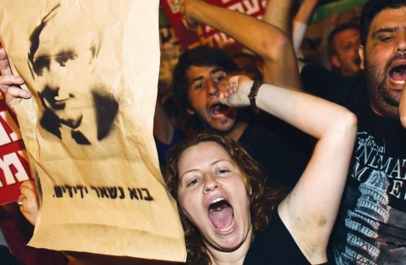 Daphni Leef at social protest 521 (photo credit: REUTERS)