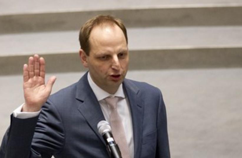 German Sen. Thomas Heilmann 370 (R) (photo credit: Thomas Peter / Reuters)