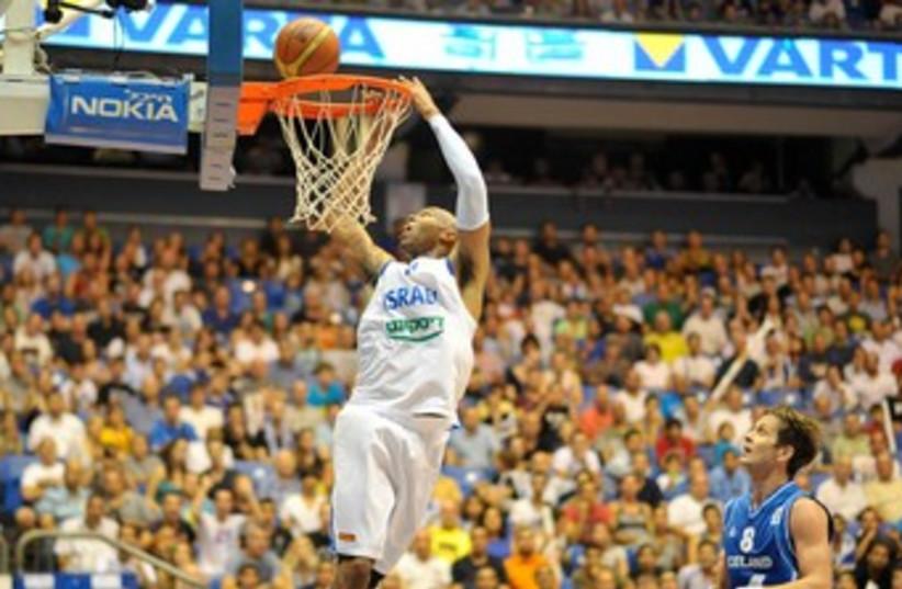 Israel EuroBasket (photo credit: Asaf Kliger)