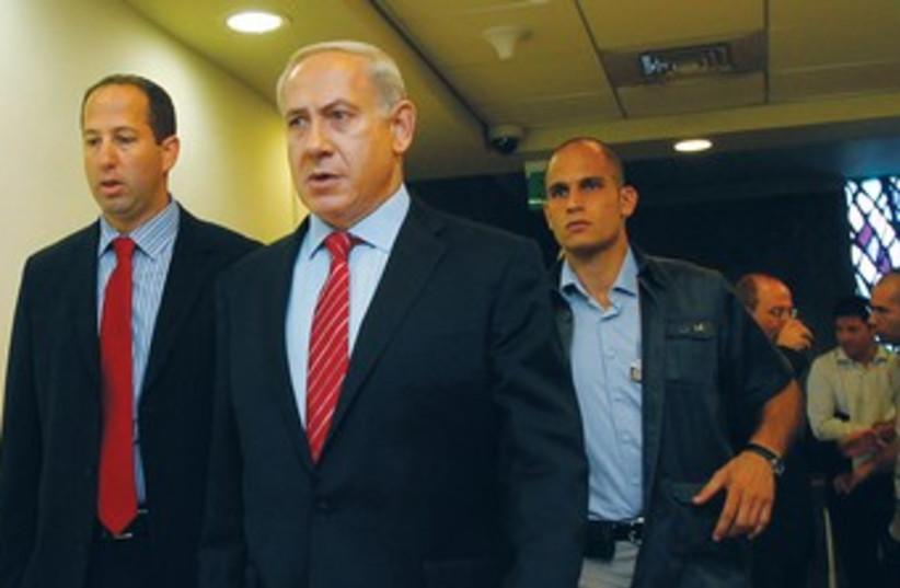 Netanyahu 370 (photo credit: REUTERS)