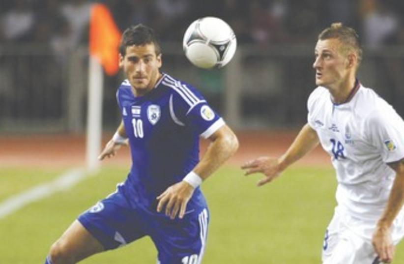 TOMER HEMED vs Azerbaijan 370 (photo credit: Reuters)
