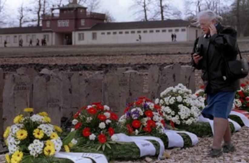 Gypsy holocaust memorial (R370) (photo credit: REUTERS/Stringer)