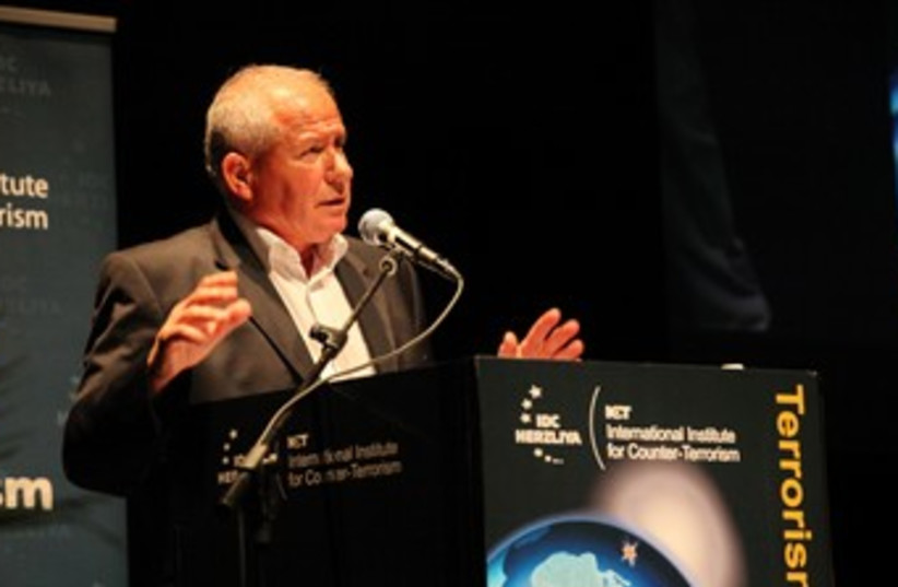 Avi Dichter at Herzliya conference 150 (photo credit: Screenshot)
