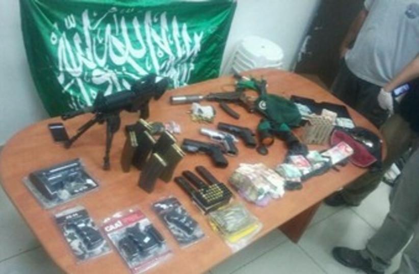 Weapons cache 370 (photo credit: Courtesy Jerusalem Police)