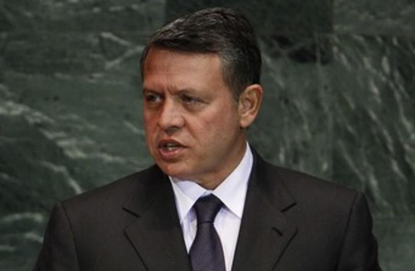 Jordan King Abdullah 370 (photo credit:   REUTERS/Shannon Stapleton)