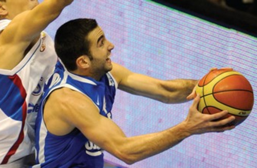 ISRAELI GUARD Yogev Ohayon 370 (photo credit: (Basketball Federation of Serbia)