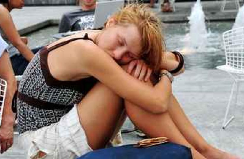 Girl sleeping (photo credit: Wikicommons)