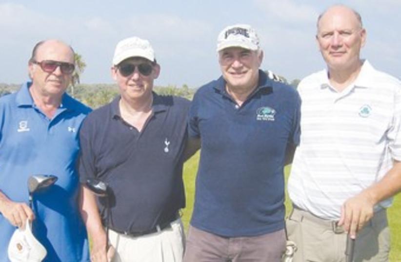 B DIVISION golfers at Ga'ash 370 (photo credit: Courtesy)