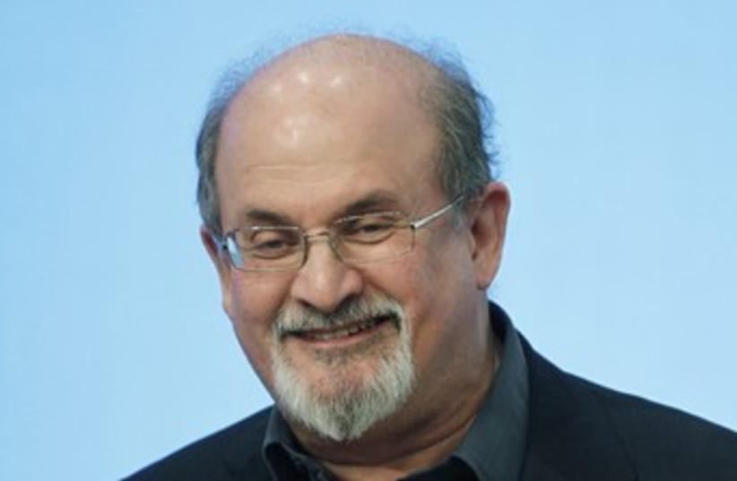 Salman Rushdie 370 (photo credit: REUTERS/Jessica Rinaldi)